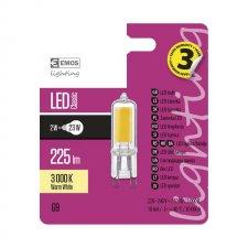 LED žiarovka Classic JC A++ 2W G9 teplá biela