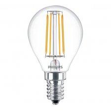 LED žiarovka FILAMENT E14 Philips 4w Teplá biela
