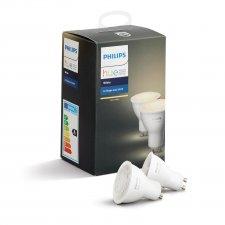 LED žiarovka Philips HUE White  GU10 5,5W - 2set Teplá biela