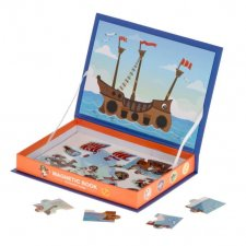 Magnetická škatuľka: Loď - 30 časti