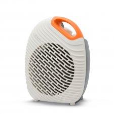 Multifunkčný ohrievač/ventilátor bielo-oranžový - 1800 / 2000W