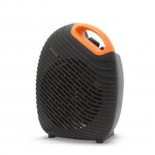 Multifunkčný ohrievač/ventilátor čierno-oranžový - 1800 / 2000W