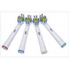 Náhradne hlavice pre elektrické zubné kefky – 3D White - 4 ks