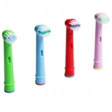 Náhradne hlavice pre elektrické zubné kefky –  Detské - 4 ks