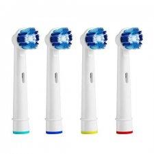 Náhradne hlavice pre elektrické zubné kefky – Precission - 4ks