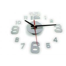 Nástenné hodiny – strieborné - BIG