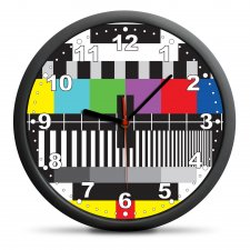 Nástenné hodiny: TV
