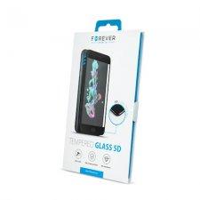 Ochranné sklo s čiernym rámom  pre Huawei P40 Lite Forever 9H