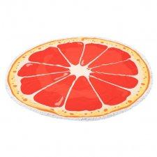 Okrúhla plážová osuška: Pomaranč