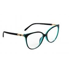 Okuliare na počítač Blue Light Diamods Turquoise BLACK