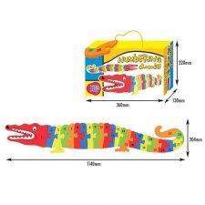 Penové Puzzle: Krokodíl