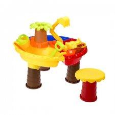 Pieskoviskový stolík – Palma