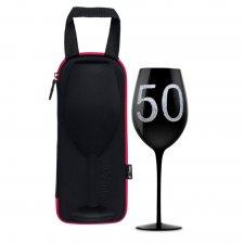 Puzdro s maxi pohárom na víno - 50