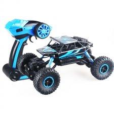 RC auto RC ROCK CRAWLER 1:18 4WD modrý