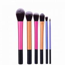 Štetce na make-up – Metalic - 6 ks
