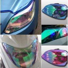Termoplastická fólia na svetlá - červená