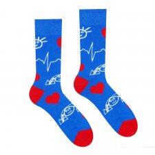 Veselé ponožky Detské kardiocentrum - 43-46