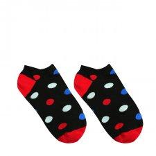 Veselé ponožky Guľkáč krátky - 35-38