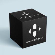 HestySocks - darčekový box pre veselé ponožky - Univerzál