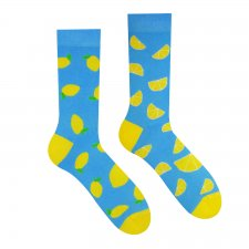 Veselé ponožky Citrón - 39-42