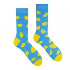 Veselé ponožky Citrón - 43-46