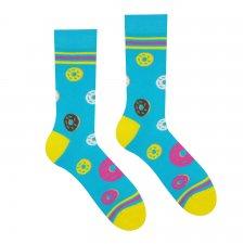 Veselé ponožky Donut - 39-42
