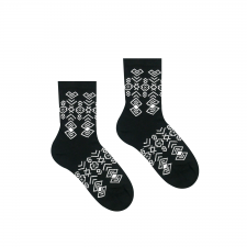 Veselé ponožky Čičman Čierny - Detské - 25-29