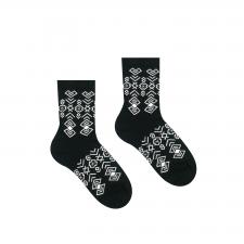 Veselé ponožky Čičman Čierny - Detské - 30-34