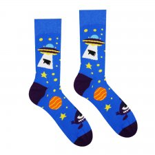Veselé ponožky Ufo - Detské - 30-34