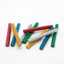 Tavná náplň do lepiacej pištole - 11 mm - farebná, glitrová