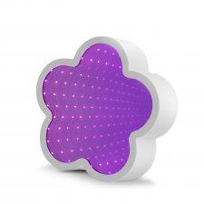 LED čarovné zrkadlo - v tvare kvetu