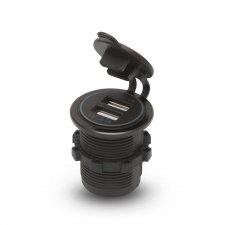 USB zásvuka zabudovateľná na miesto autozapalovača