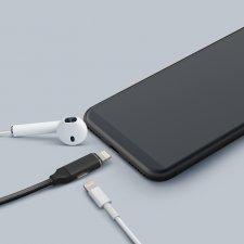Dátový kábel 2 v 1 iPhone