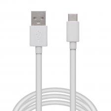 Dátový kábel USB Type - C - biely - 1 m