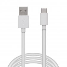Dátový kábel USB Type - C - biely - 2 m