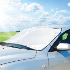 Zimná / letná ochranná fólia na čelné sklo auta / zabraňujúca zamrznutie - 150 x 70 cm