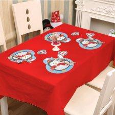 Podložka pod tanier a pohár - tučniak- 8 ks / balenie