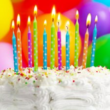 Sada sviečok na tortu