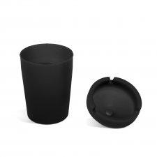 Popolník - čierny - 110 mm
