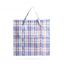 Klasická veľká nákupná taška - plast - 50 x 50 x 12 cm