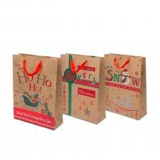 Vianočná darčeková taška