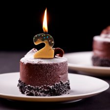 Sviečka - na tortu