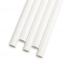 Papierová slamka - biela