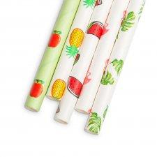 Papierová slamka - letná