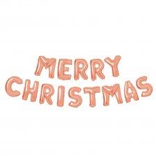 3D Vianočný nápis