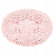 SPRINGOS Pelech pre psa a mačky plyšový 110cm - ružový
