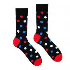 Veselé ponožky Guľkáč dlhý - 39-42