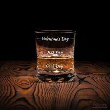 Valentínsky pohár na whiskey