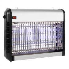 Vnútorný elektrický lapač hmyzu - 2 x 8 W - kovový - IKM 50