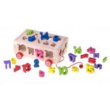 Vzdelávacia hračka Sorter: Písmena